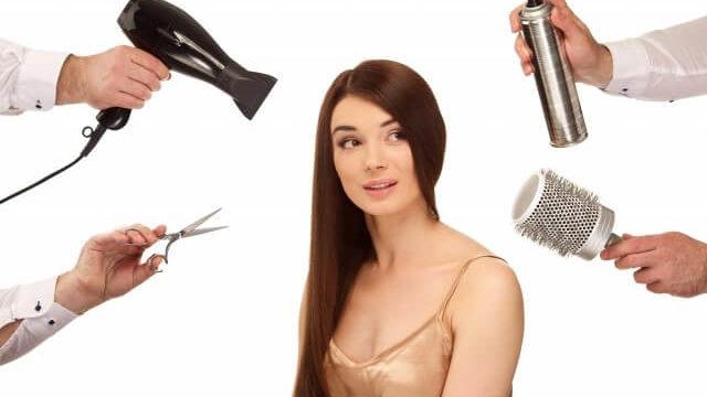美容室の髪質改善メニュー