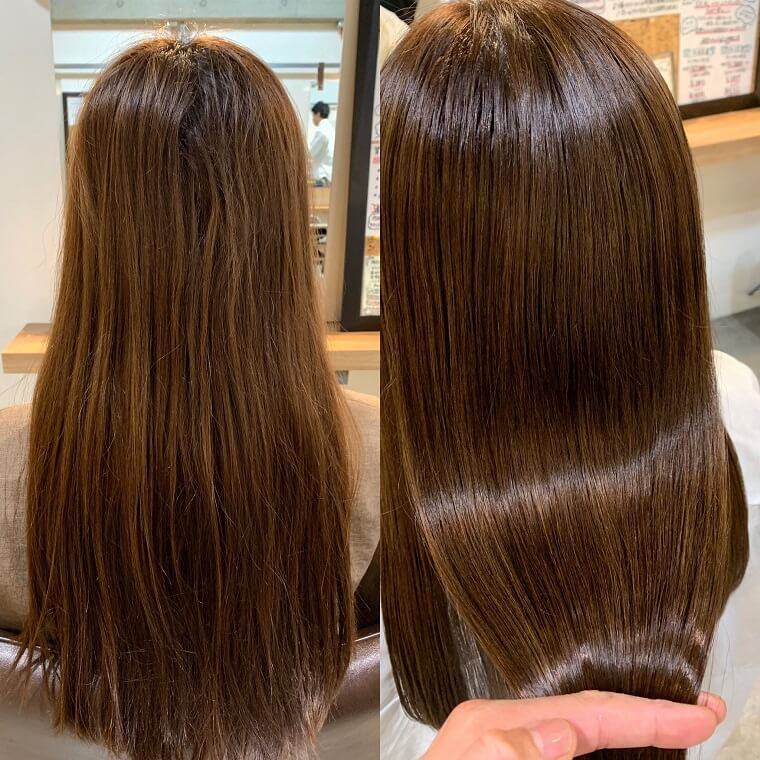 高田馬場IDEAL美容室の髪質改善