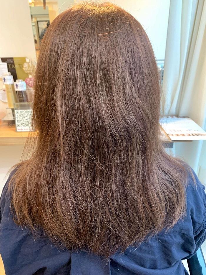 髪質改善前