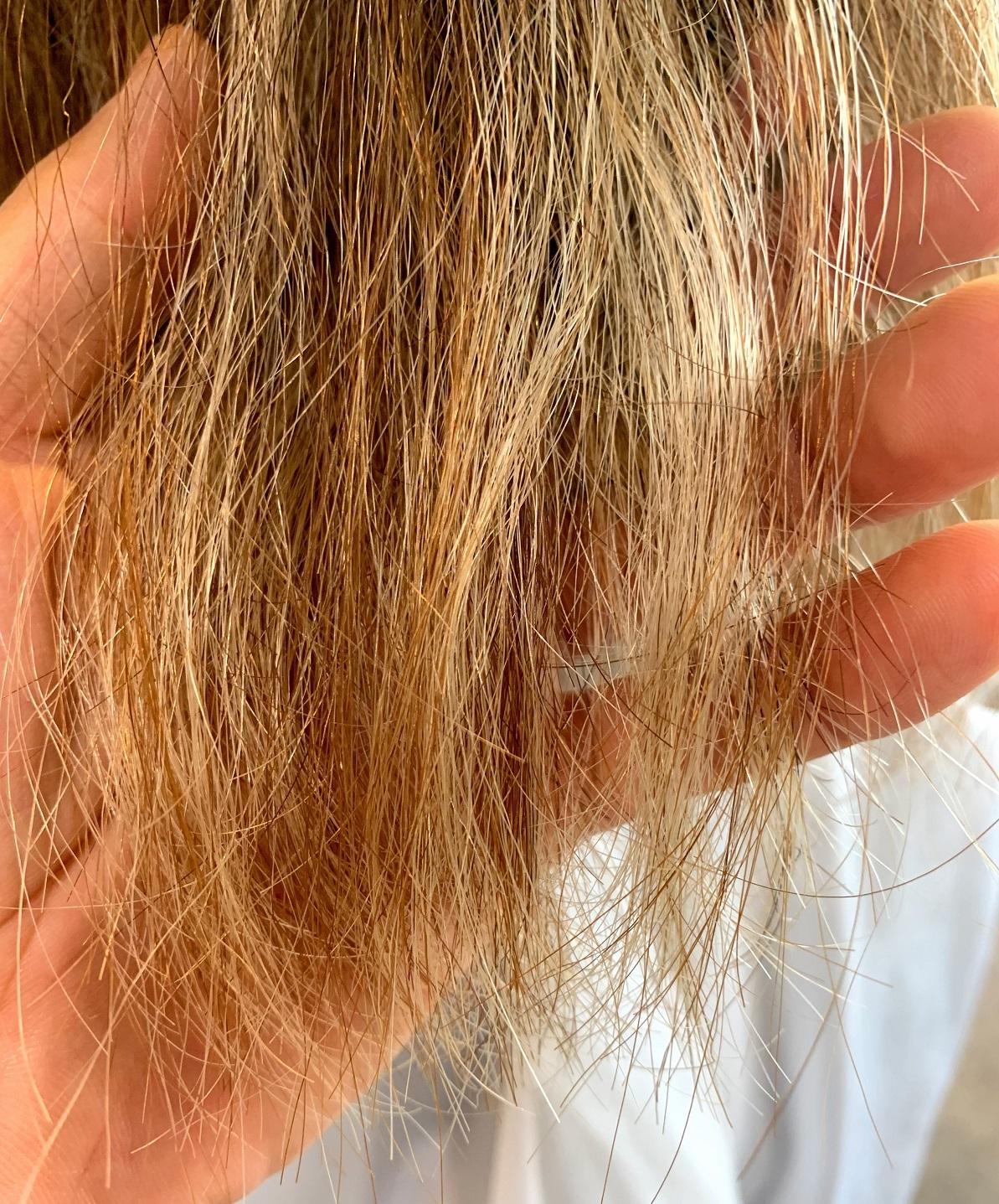 髪痛みすぎ