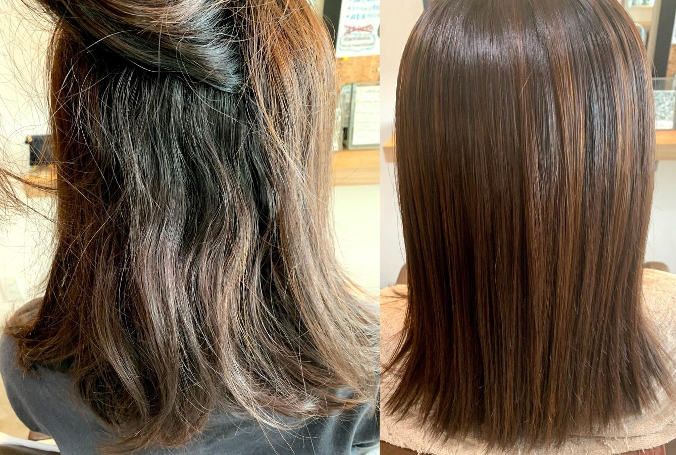 髪の毛毛先ダメージ